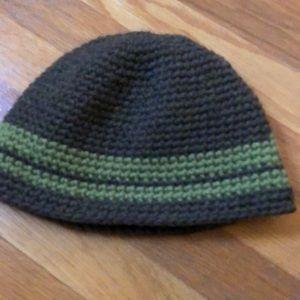 Other - Hand Made Unisex wool/fleece reversible Beanie